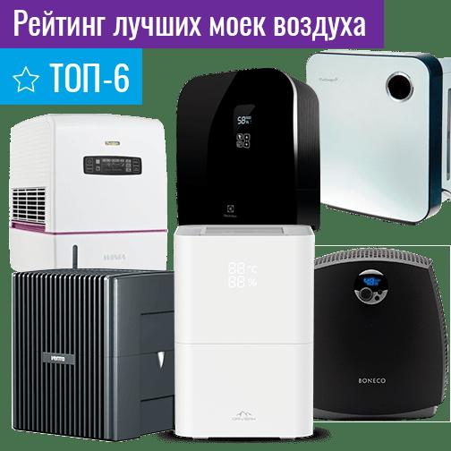 Лучшие мойки воздуха — ТОП-6